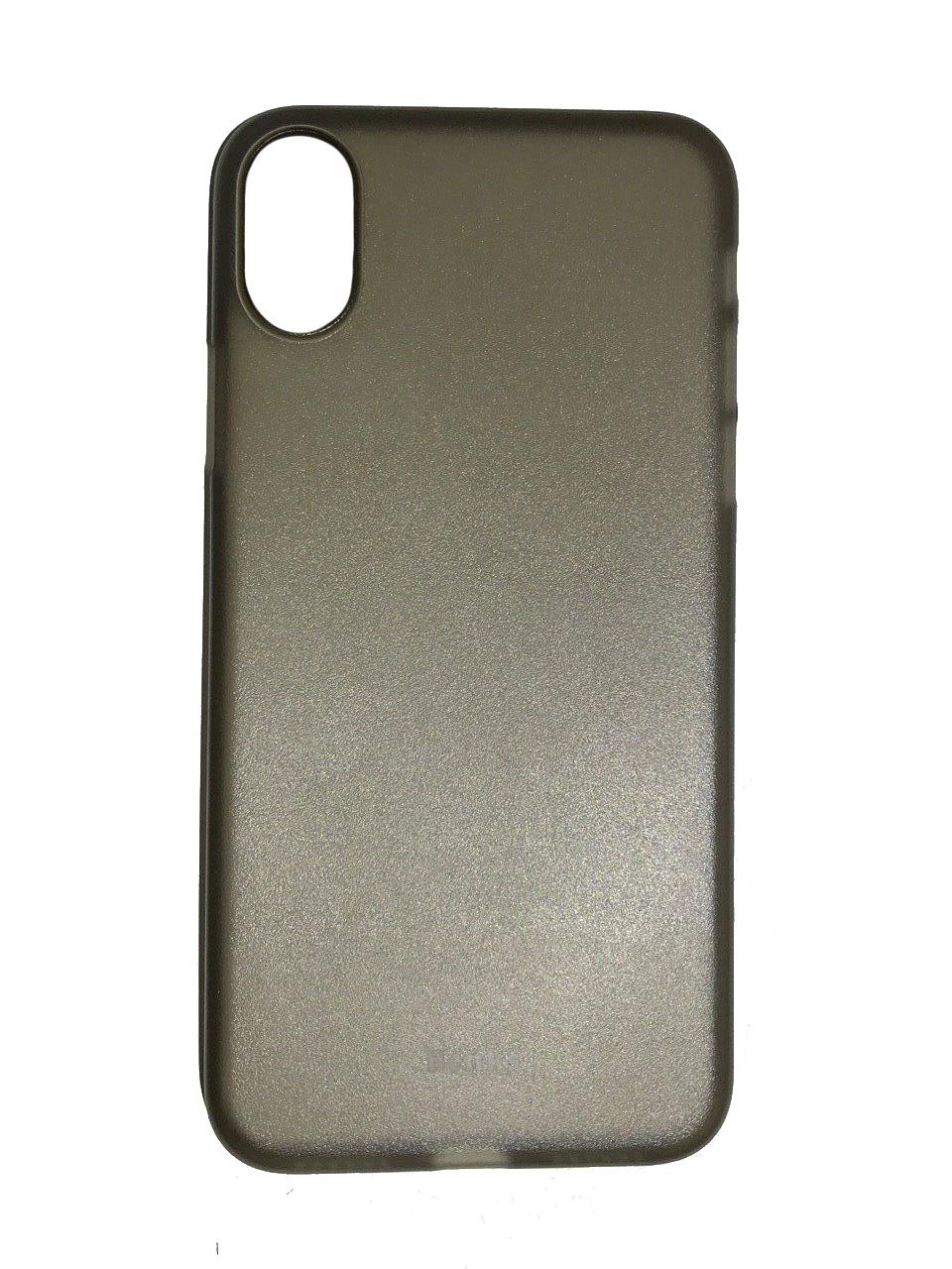 Чехол для Apple iPhone X Чехол for iPhone X пластик (Grey)