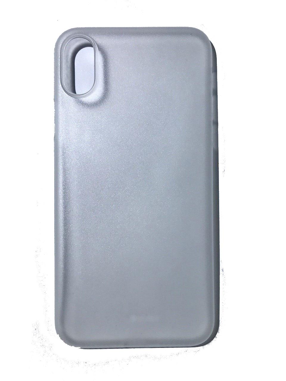 Чехол для сотового телефона Benks Чехол for iPhone X пластик (White), белый glare free screen protector with cleaning cloth for iphone 3g
