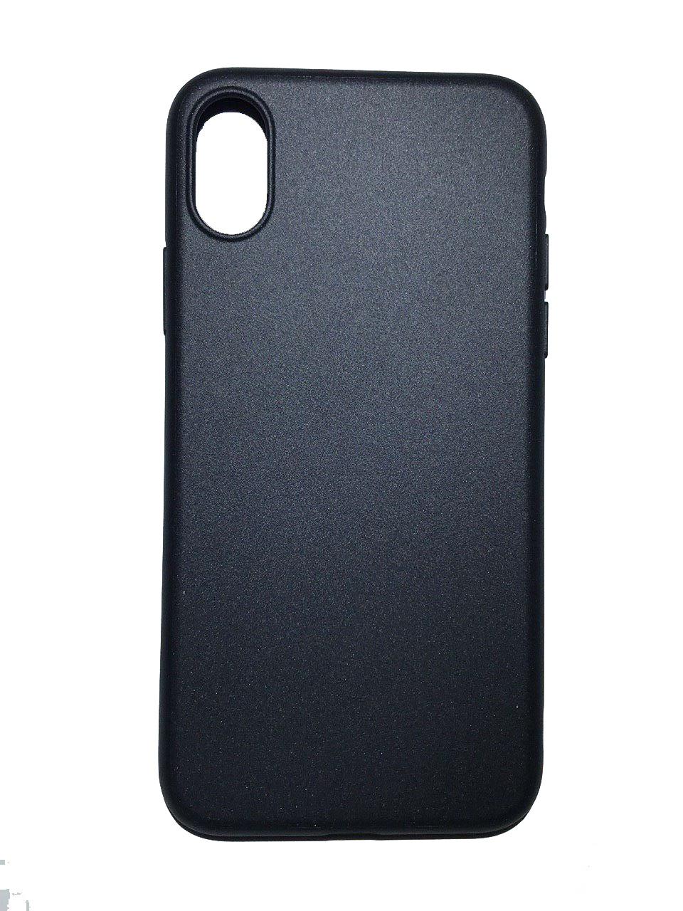 Чехол для сотового телефона Benks Чехол for iPhone X силикон (Black), черный glare free screen protector with cleaning cloth for iphone 3g
