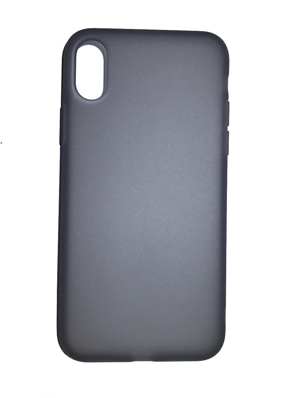 Чехол для сотового телефона Benks Чехол for iPhone X силикон (Grey), серый glare free screen protector with cleaning cloth for iphone 3g