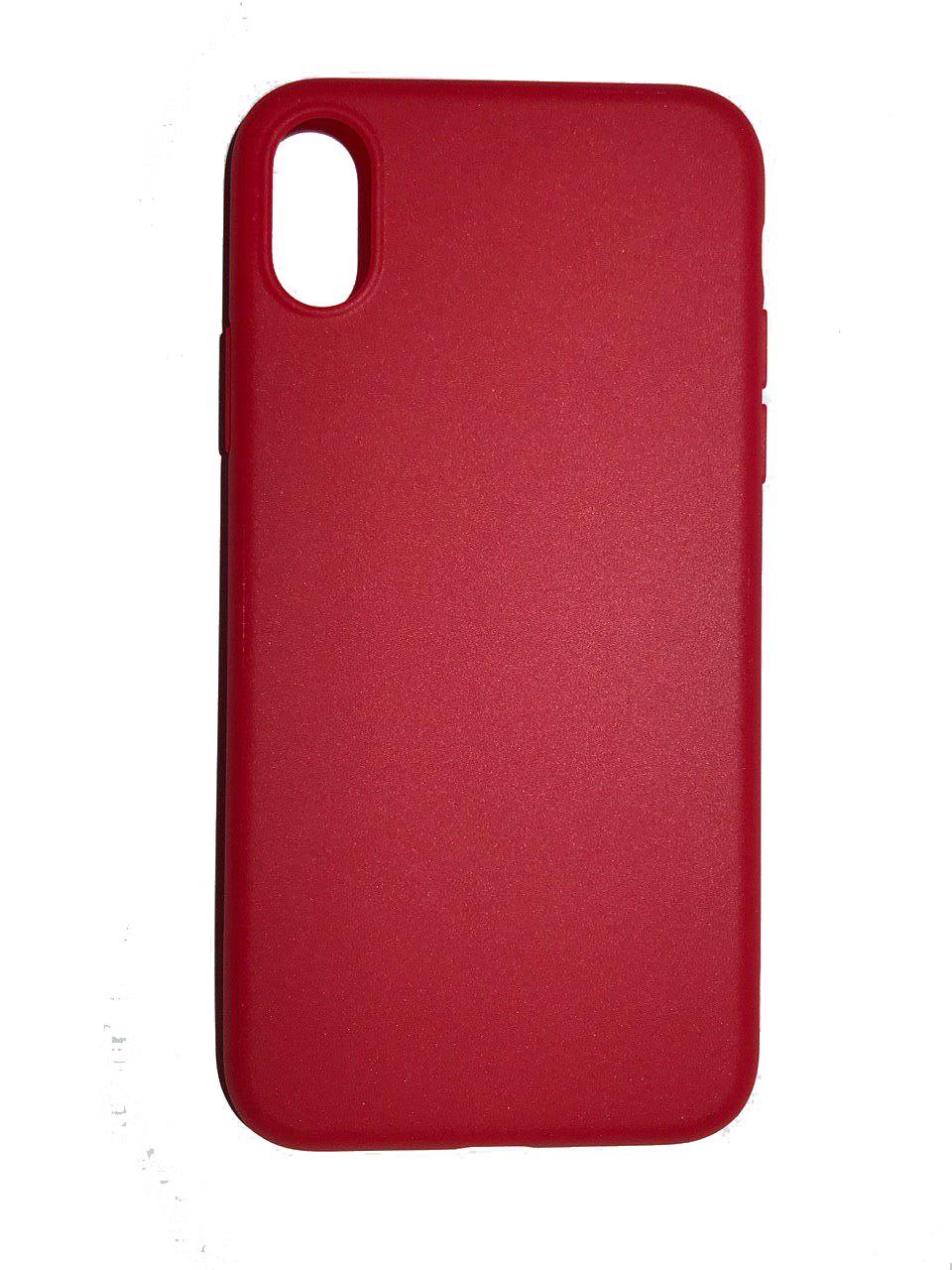 Чехол для сотового телефона Benks Чехол for iPhone X силикон (Red), красный glare free screen protector with cleaning cloth for iphone 3g