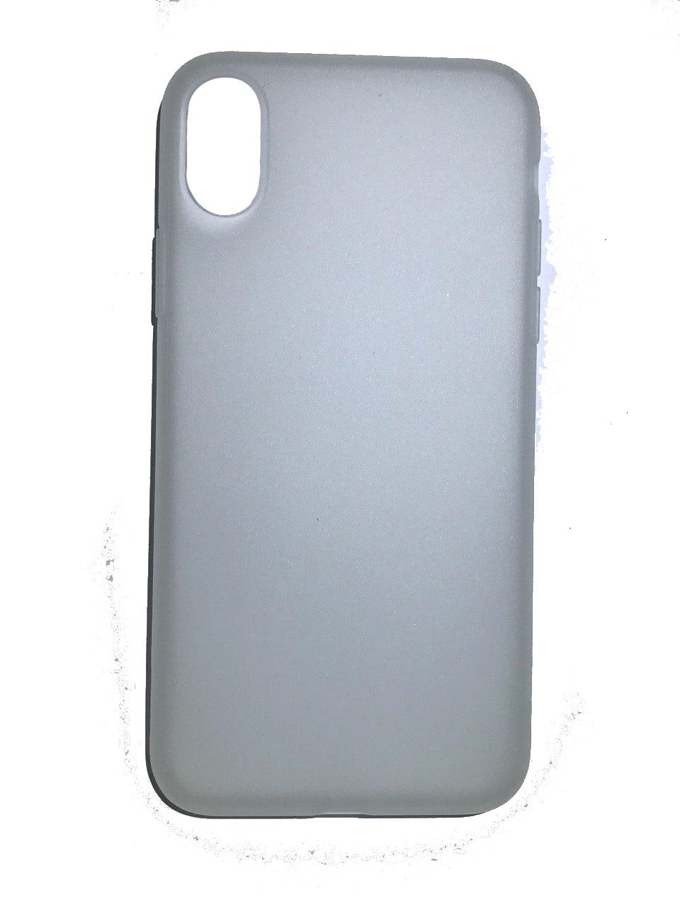 Чехол для сотового телефона Benks Чехол for iPhone X силикон (White), белый glare free screen protector with cleaning cloth for iphone 3g