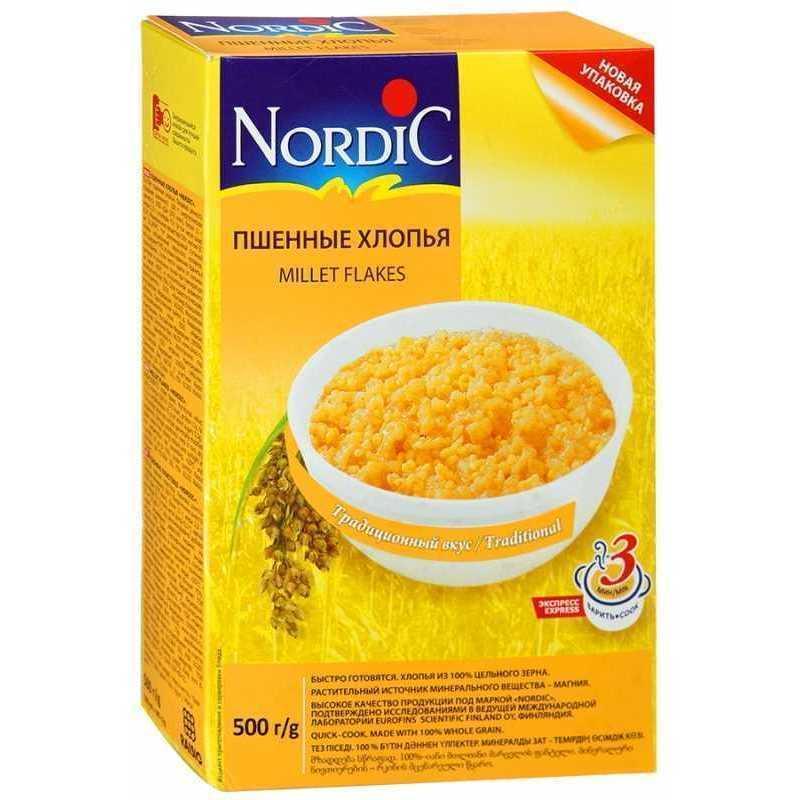 Пшенные хлопья NORDIC 242511 Nordic