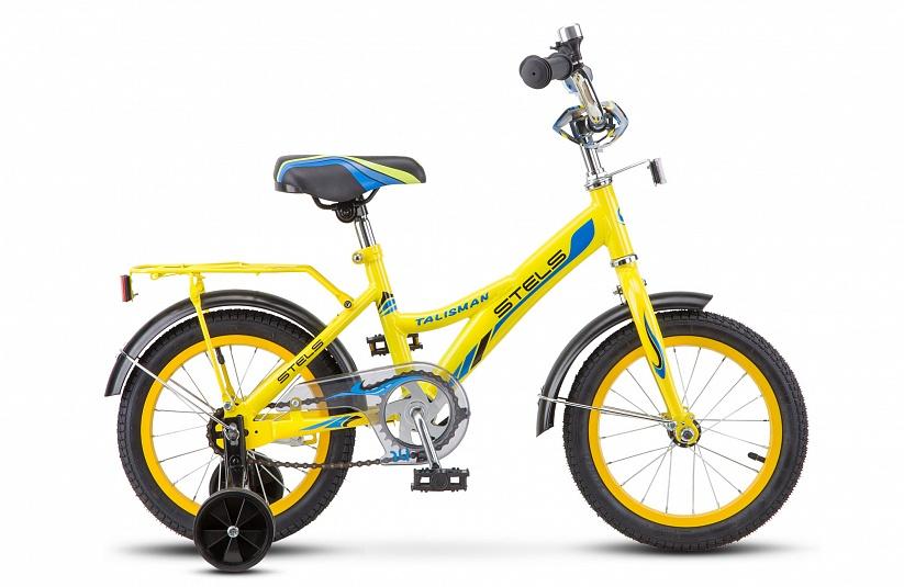 Велосипед Stels Talisman 14 Z010, желтый велосипед stels talisman 14 z010 зеленый