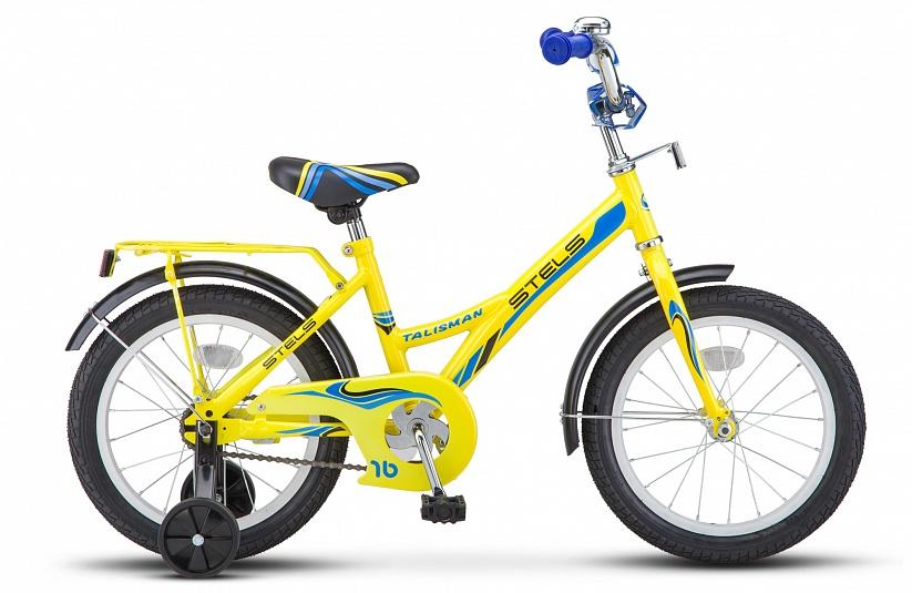 Велосипед Stels Talisman 16 Z010, желтый
