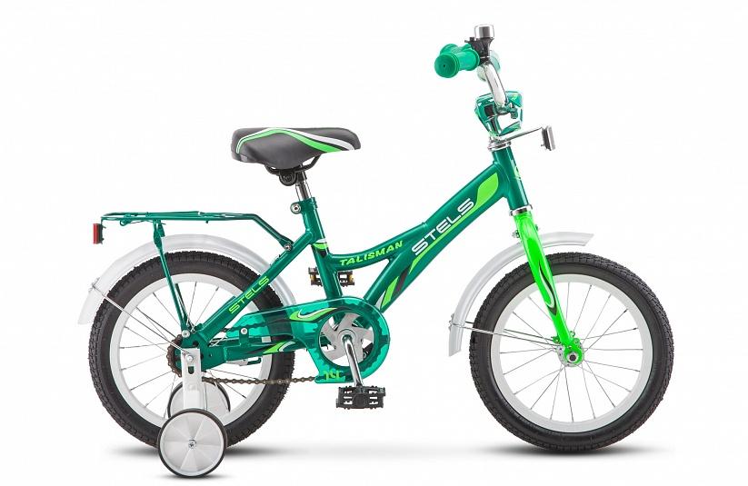 Велосипед Stels Talisman 16 Z010, зеленый велосипед stels talisman 14 z010 зеленый