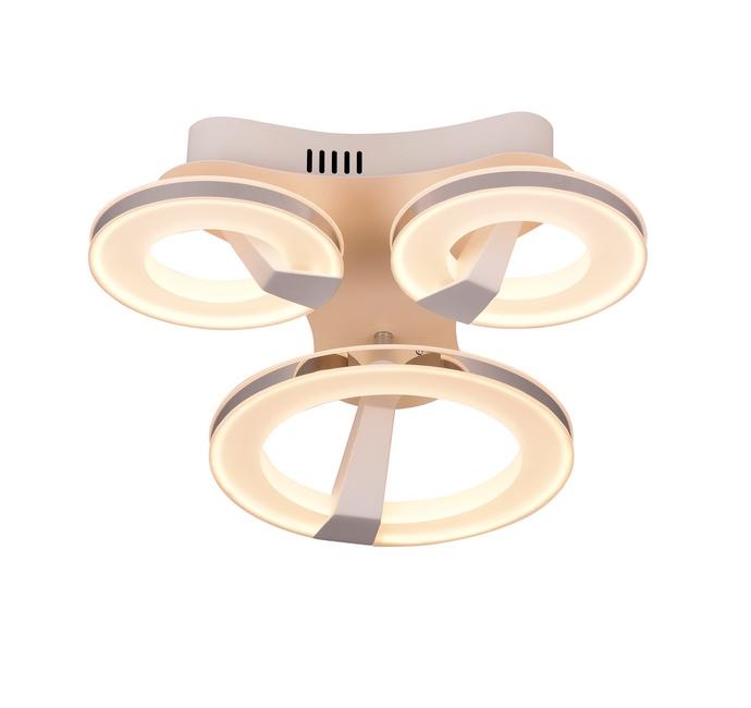 Потолочный светильник Idlamp 397/3PF-LEDWhitechrome
