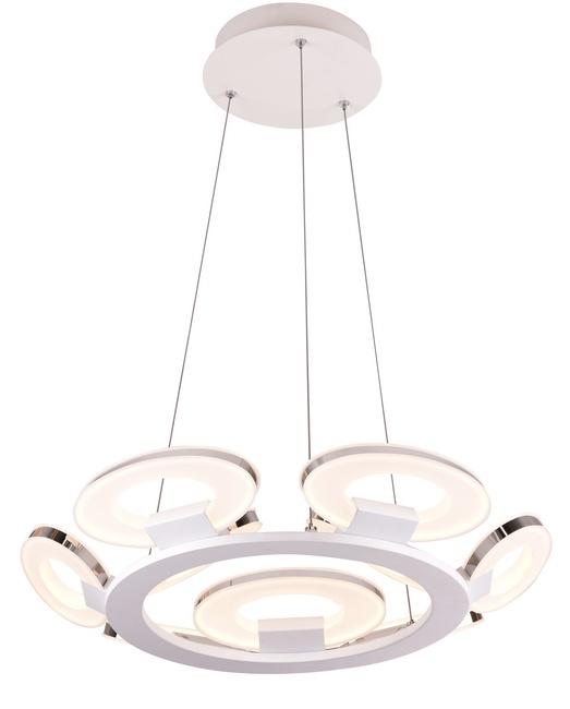 Потолочный светильник Idlamp 399/9-LEDWhitechrome люстра потолочный светильник аврора бунгало 10014 5l