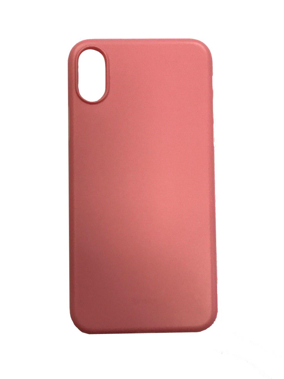 Чехол для сотового телефона Benks Чехол for iPhone X пластик (Pink), розовый glare free screen protector with cleaning cloth for iphone 3g