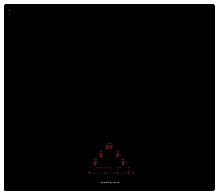Варочная панель  CIS 331. 60 BX, черный проверки посуды Регулир. блокировки клавиатуры при очистке Функц...