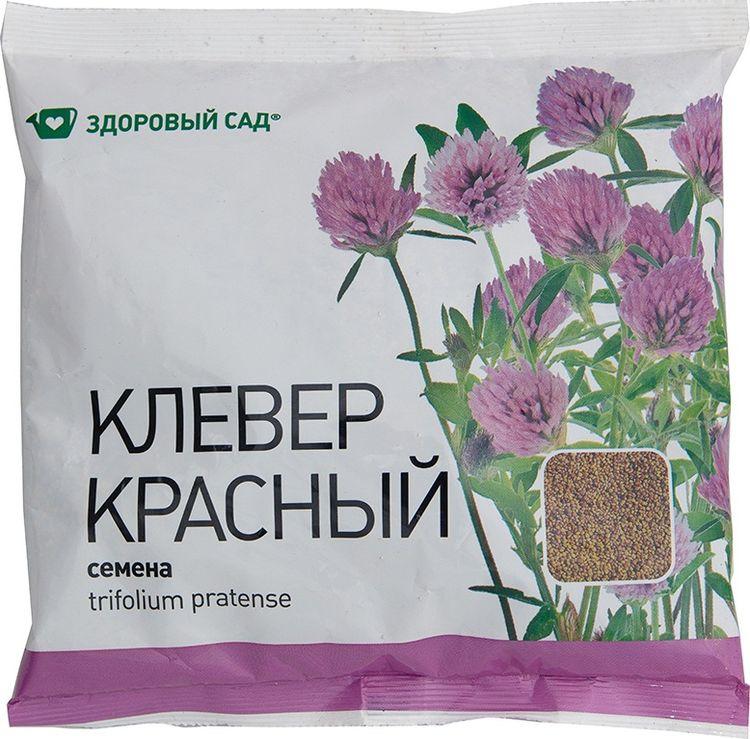 Семена Здоровый сад Клевер красный, 500 г