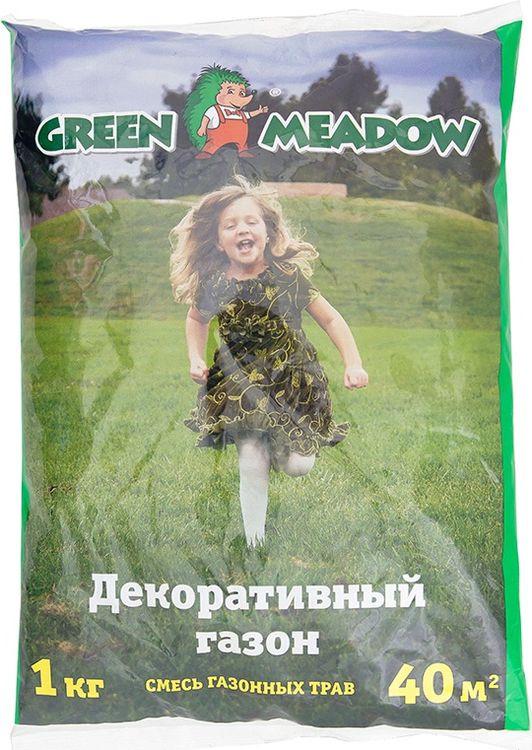 все цены на Семена Green Meadow Декоративный стандартный газон, 1 кг онлайн