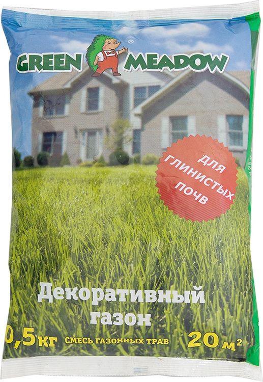 Семена Green Meadow Декоративный газон для глинистых почв, 500 г цена