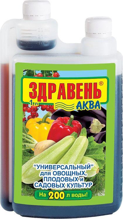 Удобрение универсальное Здравень Аква Opti Doza, 1 л недорого