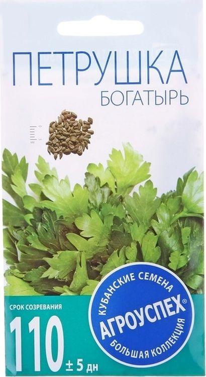 Семена Агроуспех Петрушка Богатырь листовая, 3 г цена