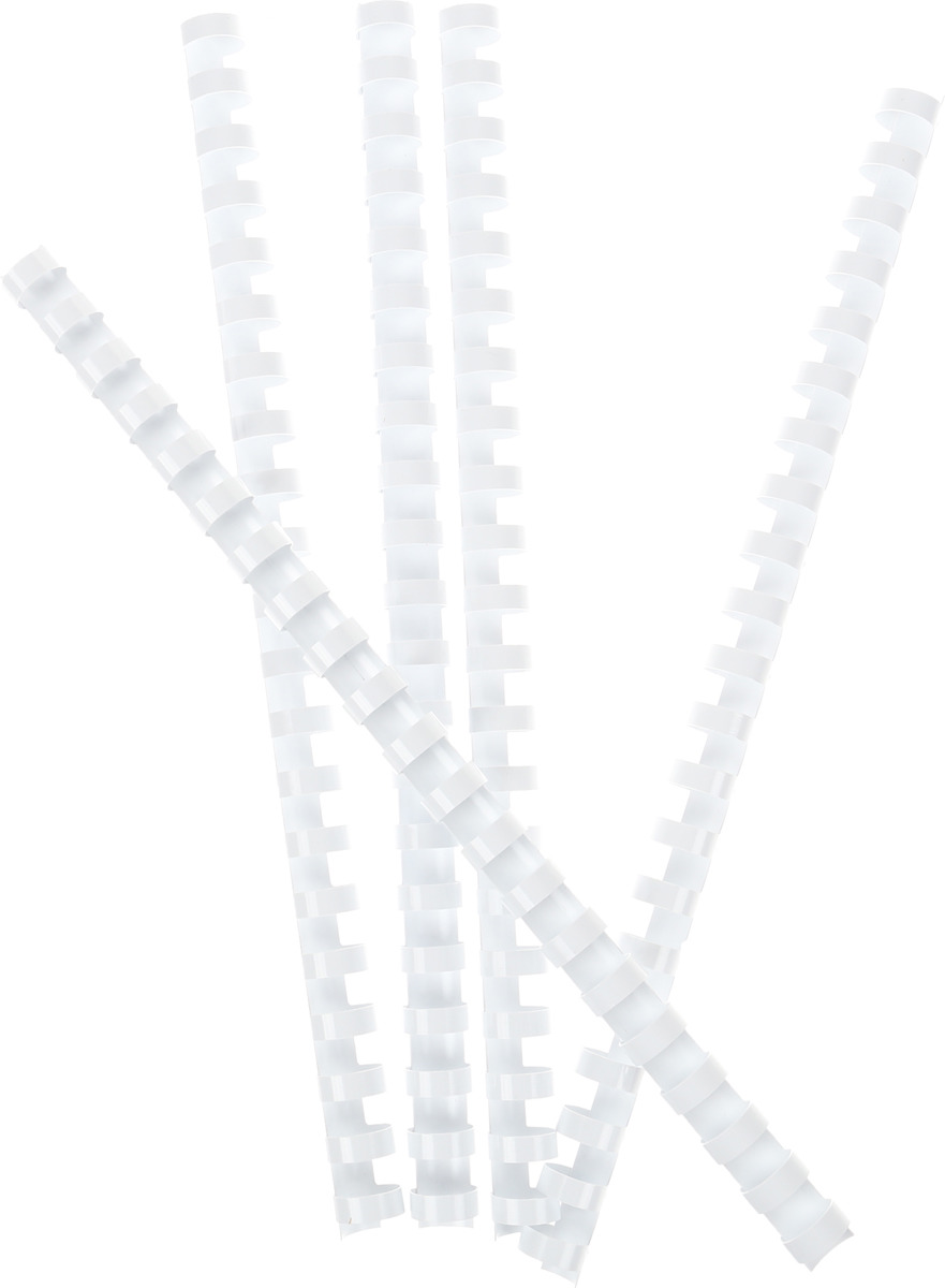 Fellowes FS-53316, White пружина для переплета, 14 мм (25 шт) пружина для переплета fellowes 8мм черный fs 53457 fs 53457