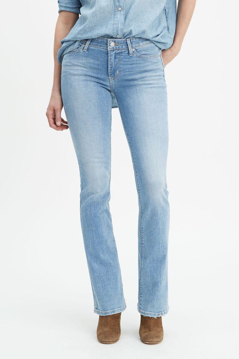 Джинсы Levi's 715 Bootcut Denim женские джинсы fanqin jeans bootcut 031