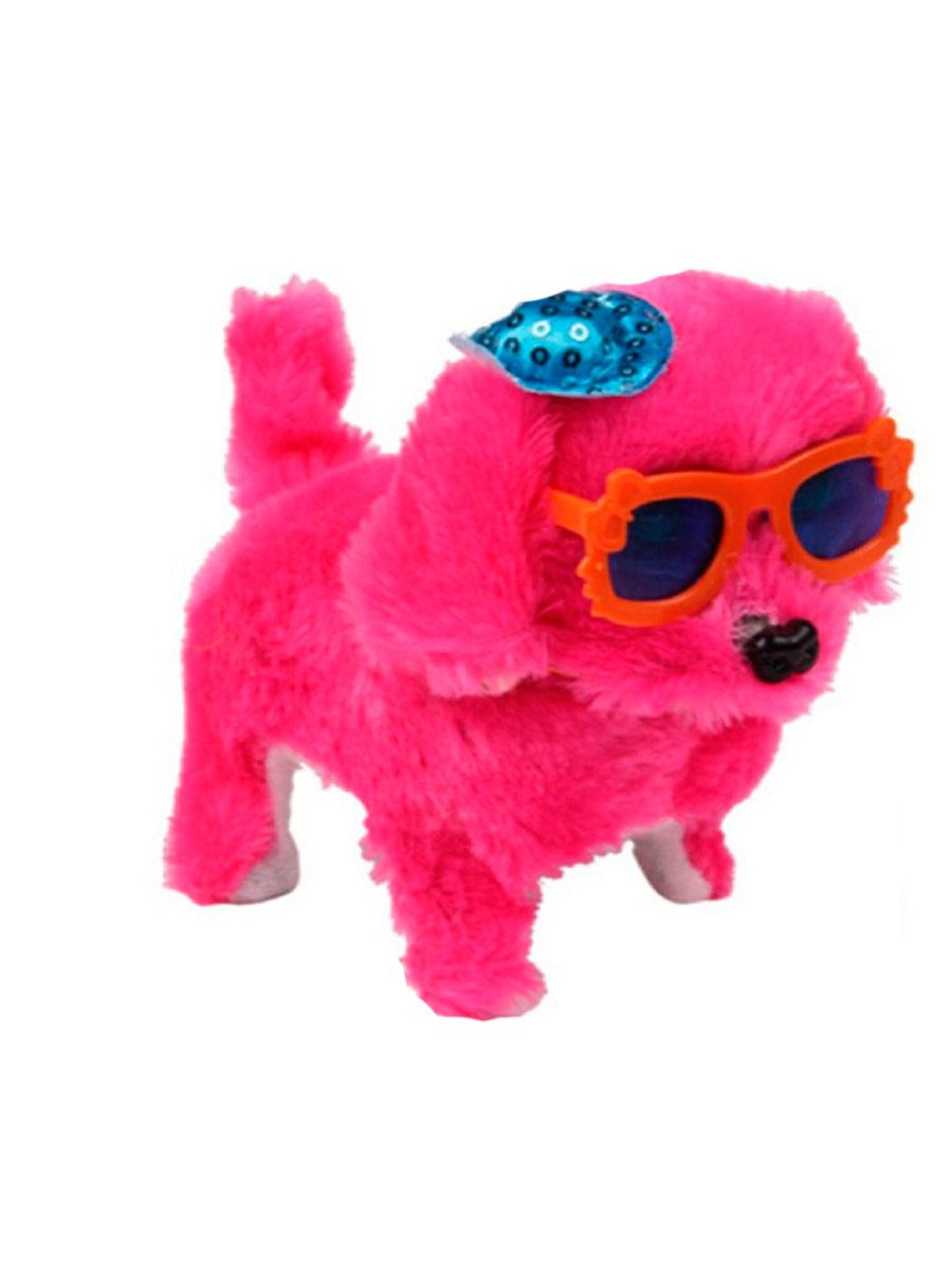 Интерактивная игрушка Fidget Go Собачка Дружок розовый тендерайзер fidget go цвет белый