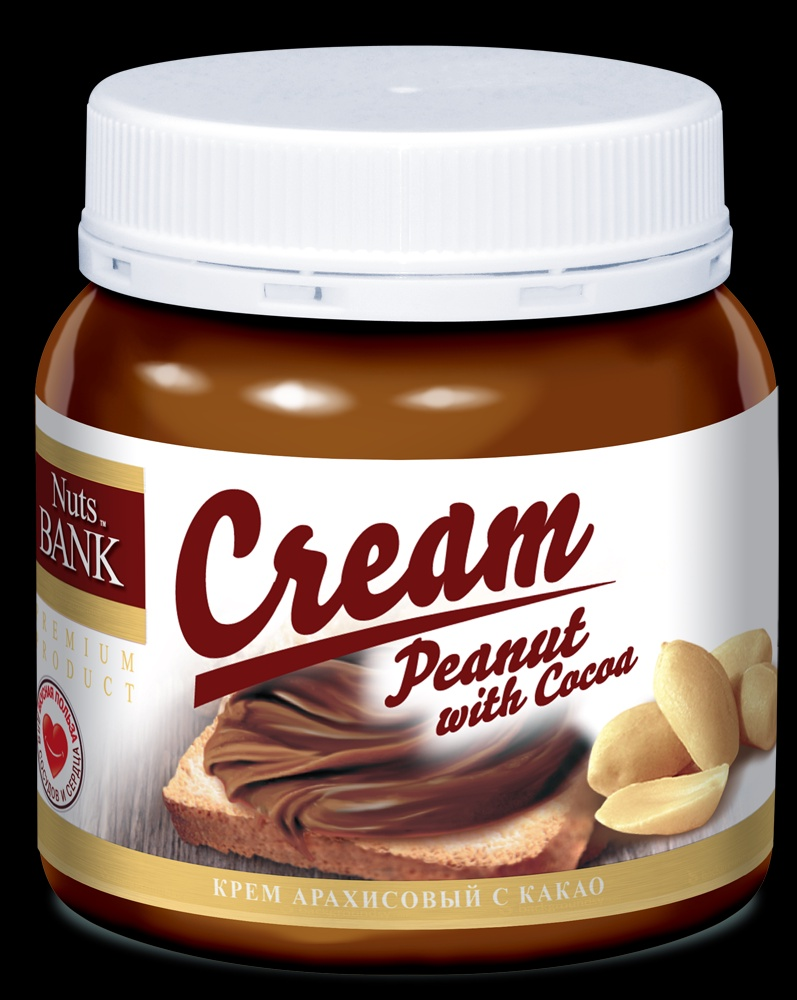 Ореховый крем Nuts Ban Cream U921521, 250