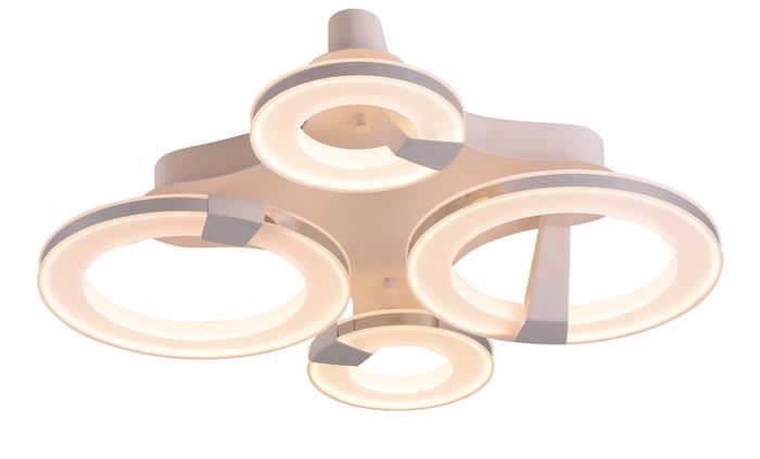 Потолочный светильник Idlamp 397/4PF-LEDWhitechrome