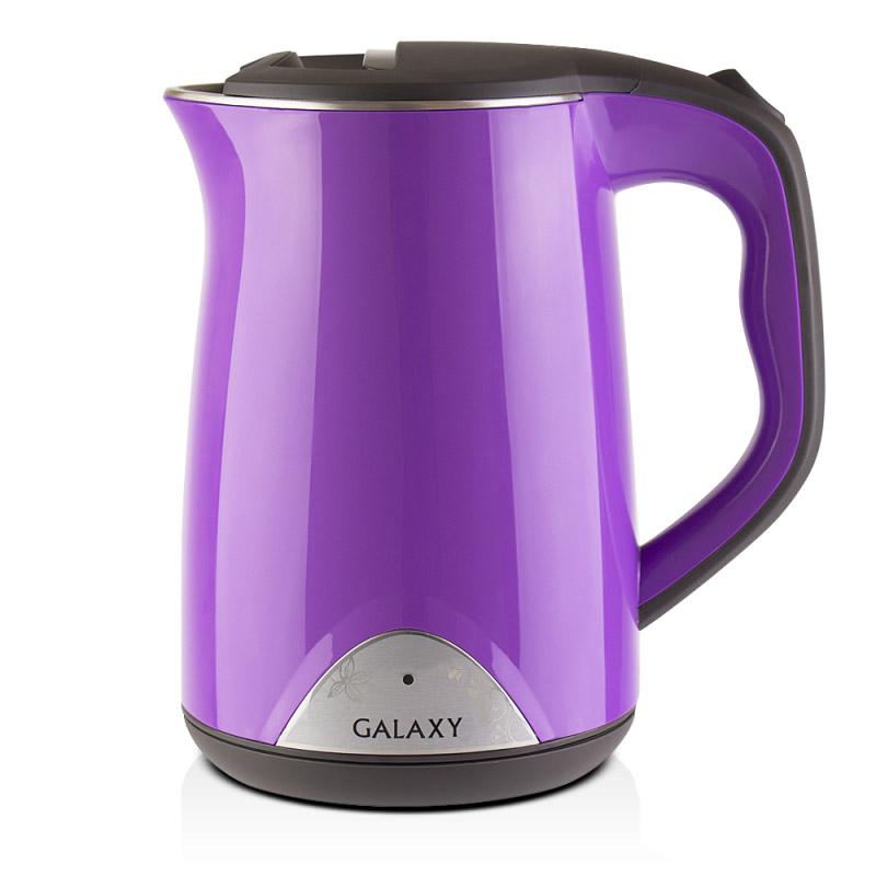 Электрический чайник Galaxy GL 0301 фиолетовый цена