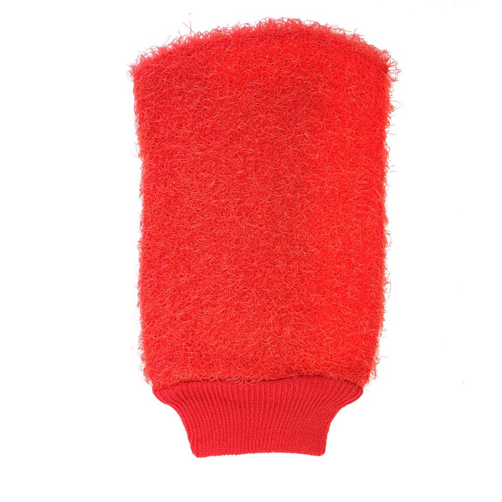 Мочалка MARKETHOT в форме рукавицыZ06184Мочалка – массажер предназначена для интенсивного массажа тела. Усиливает кровообращение, что улучшает общее самочувствие. Также ее можно применять в косметических целях: благодаря отшелушивающему эффекту, основательно очищает кожу от омертвевших клеток, делая ее гладкой и упругой. Мочалка оказывает интенсивное влияние на кожу, не раздражая ее. Она изготовлена из волокна, специально разработанного для ухода за кожей. Ее легко содержать в чистоте, т.к. она быстро сохнет.