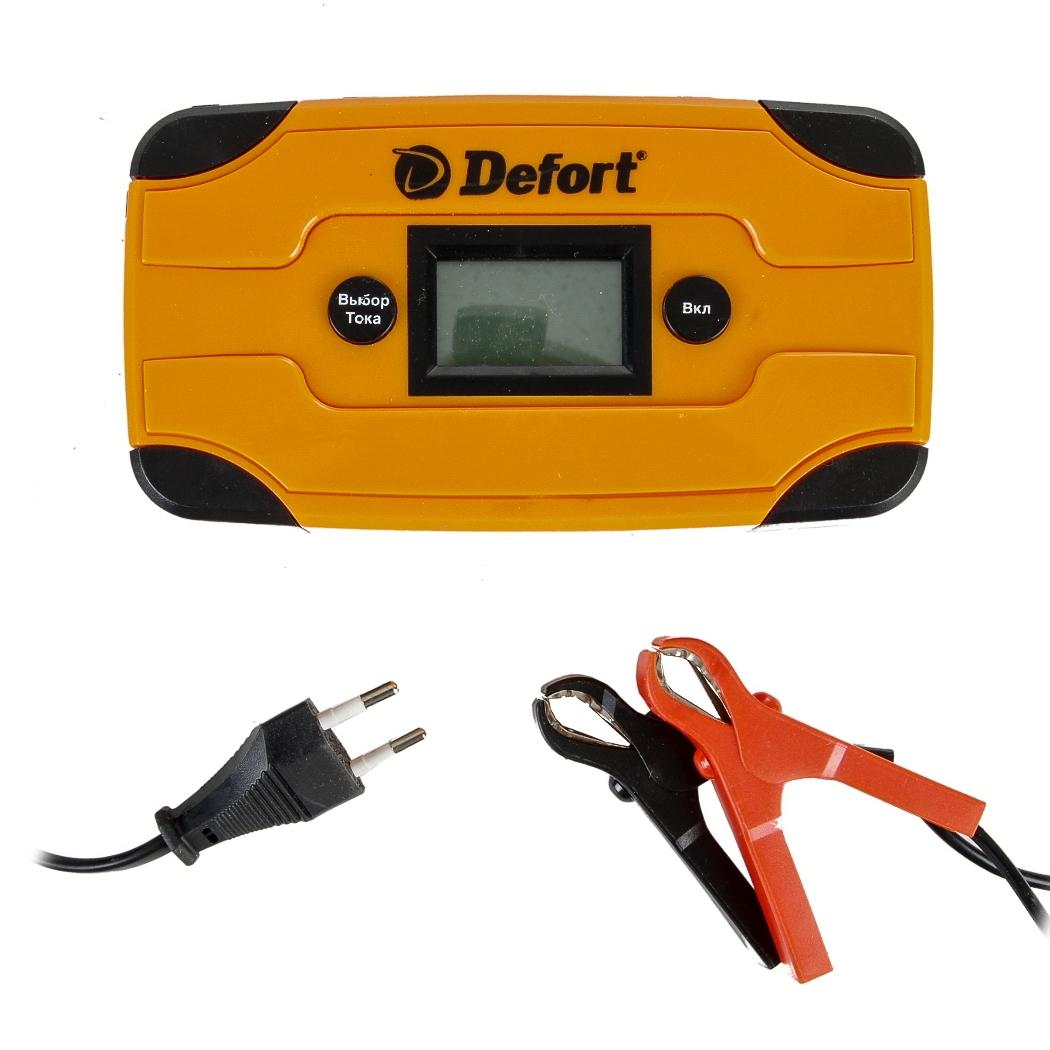 Автомобильное зарядное устройство Defort DBC-6D устройство defort dbc 10 93729103