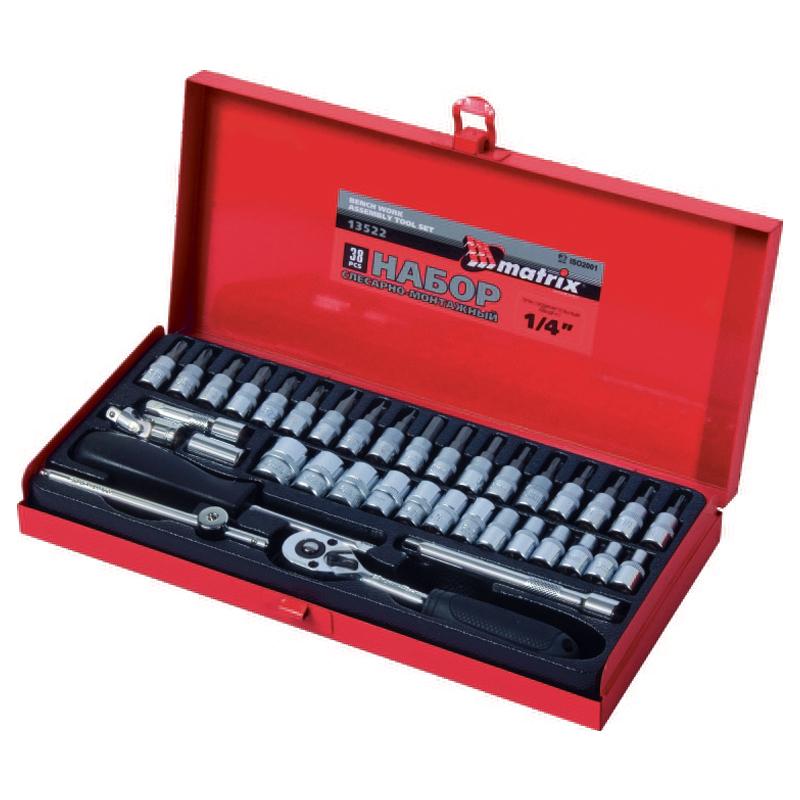 Набор инструментов MATRIX 13522 vivanco 36762 black