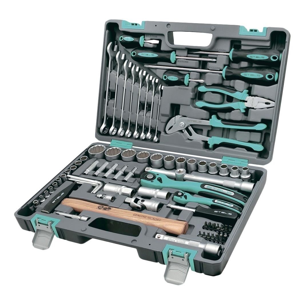 Набор инструментов STELS 14116 mag2000 дед мороз с домиком подсвечник 9 7 x 6 2 x 9 5 см