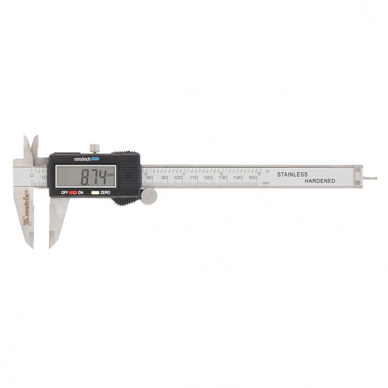 Штангенциркуль MATRIX 4044996031224 штангенциркуль стрелочный matrix 150 мм 31601