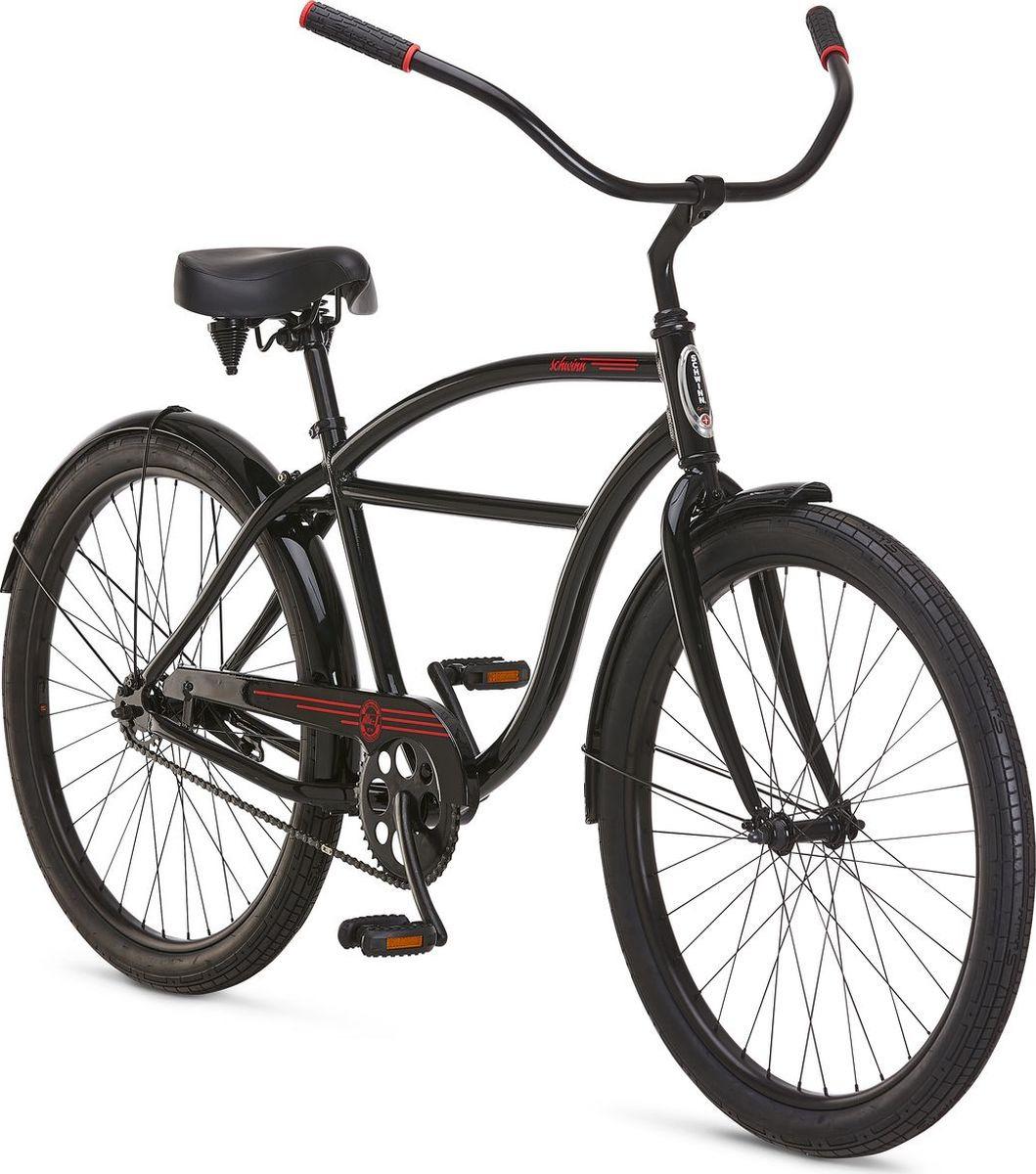 Велосипед городской Schwinn ALU 1, колесо 26, черный