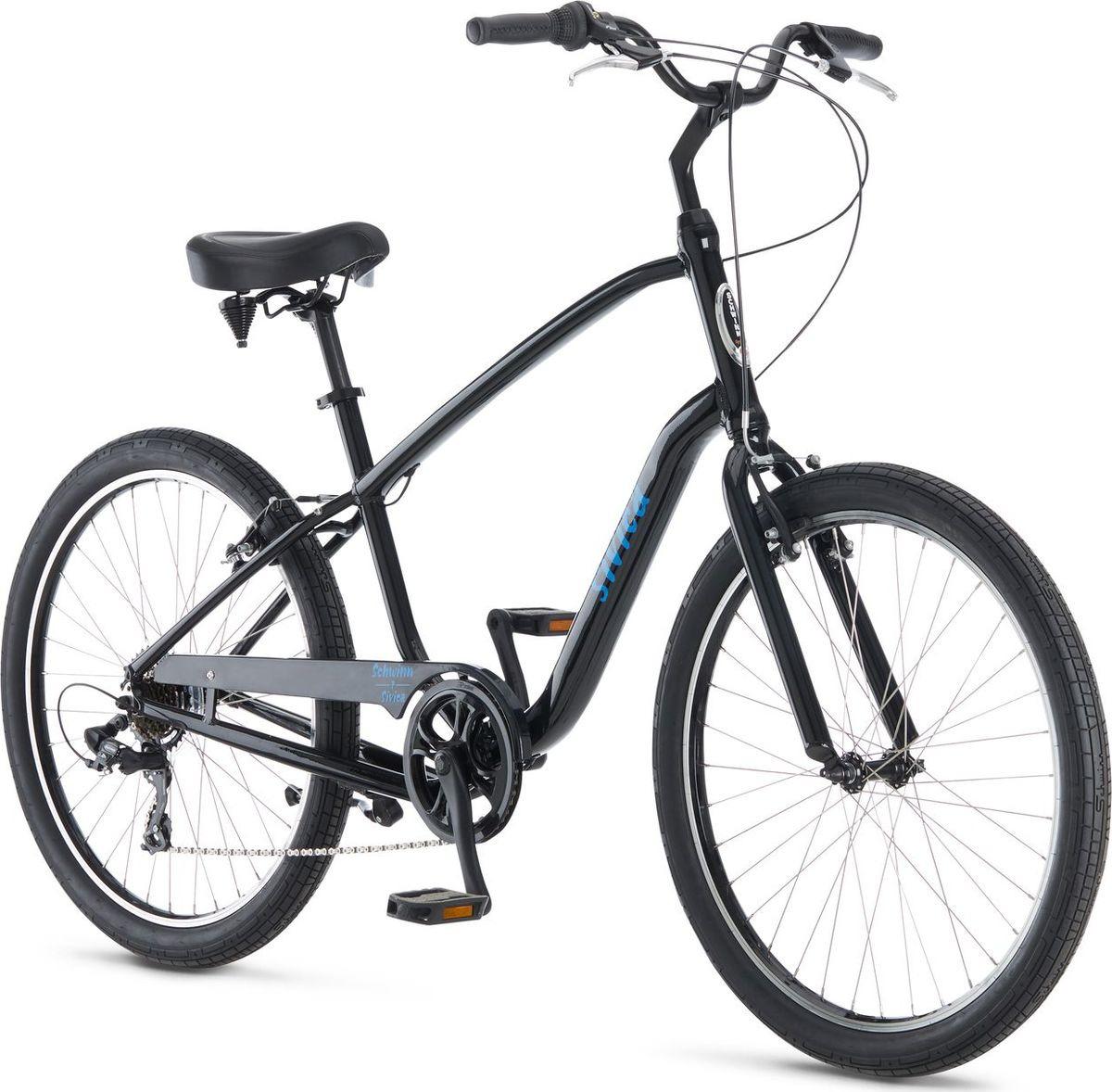 Велосипед городской Schwinn Sivica 7, колесо 26, черный, 7 скоростей велосипед schwinn perla 7 2018