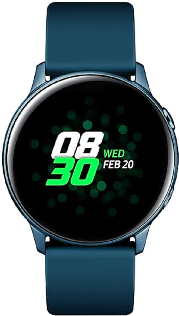 Умные часы Samsung Galaxy Watch Active, зеленый 70m hdmi 2 0 left angled 90 degree male to female active repeater extender booster coupler adapter 1080p hdtv