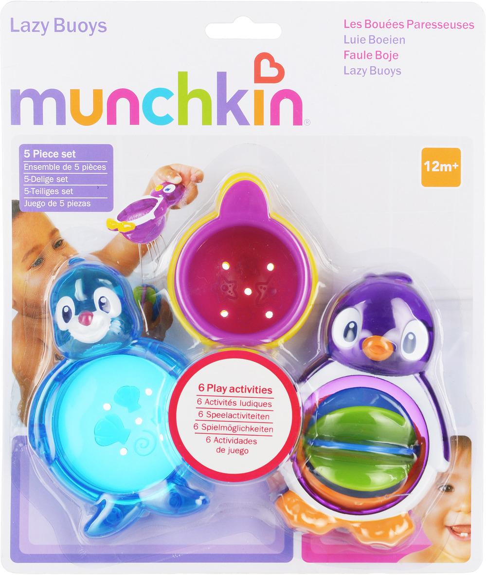 """Набор игрушек для ванны Munchkin """"Морские животные"""", цвет в ассортименте, 5 шт. 11306"""