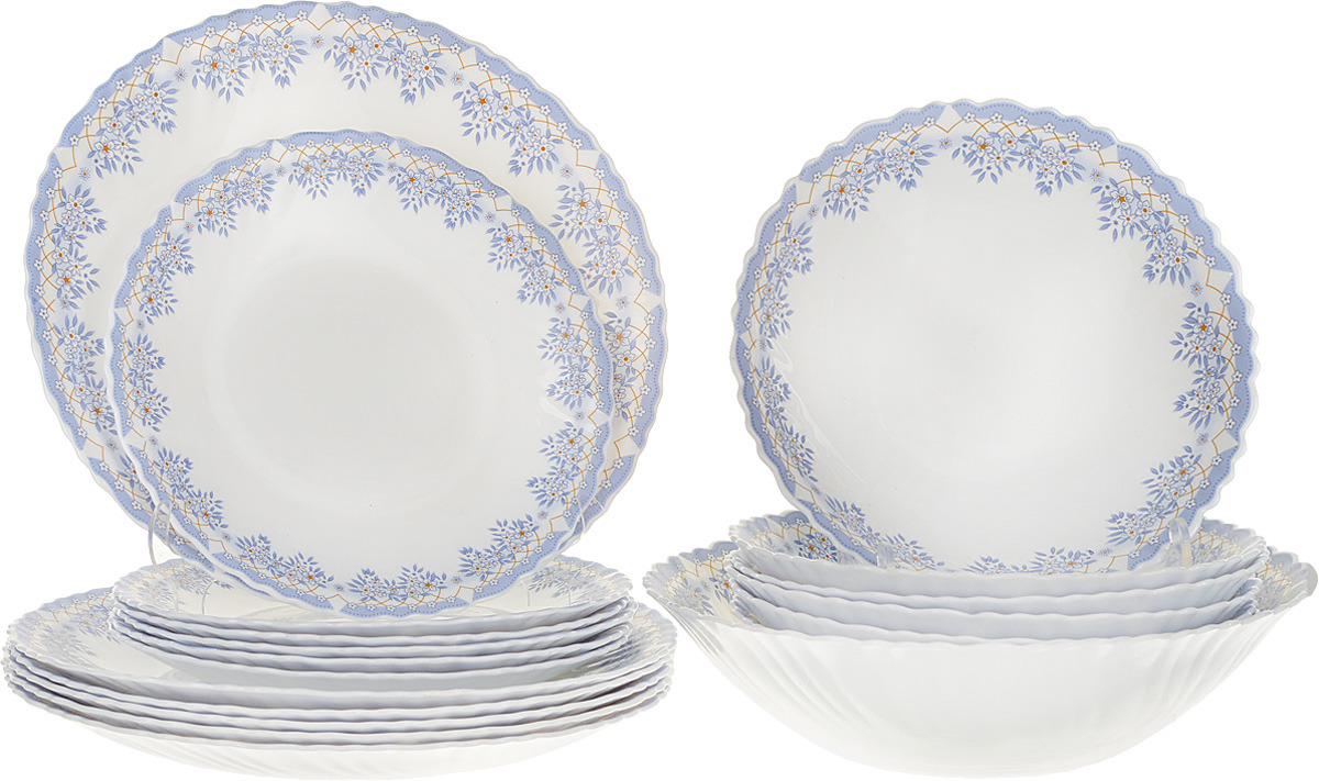 Набор столовой посуды Millimi Аполлон 2, 818011, 19 предметов
