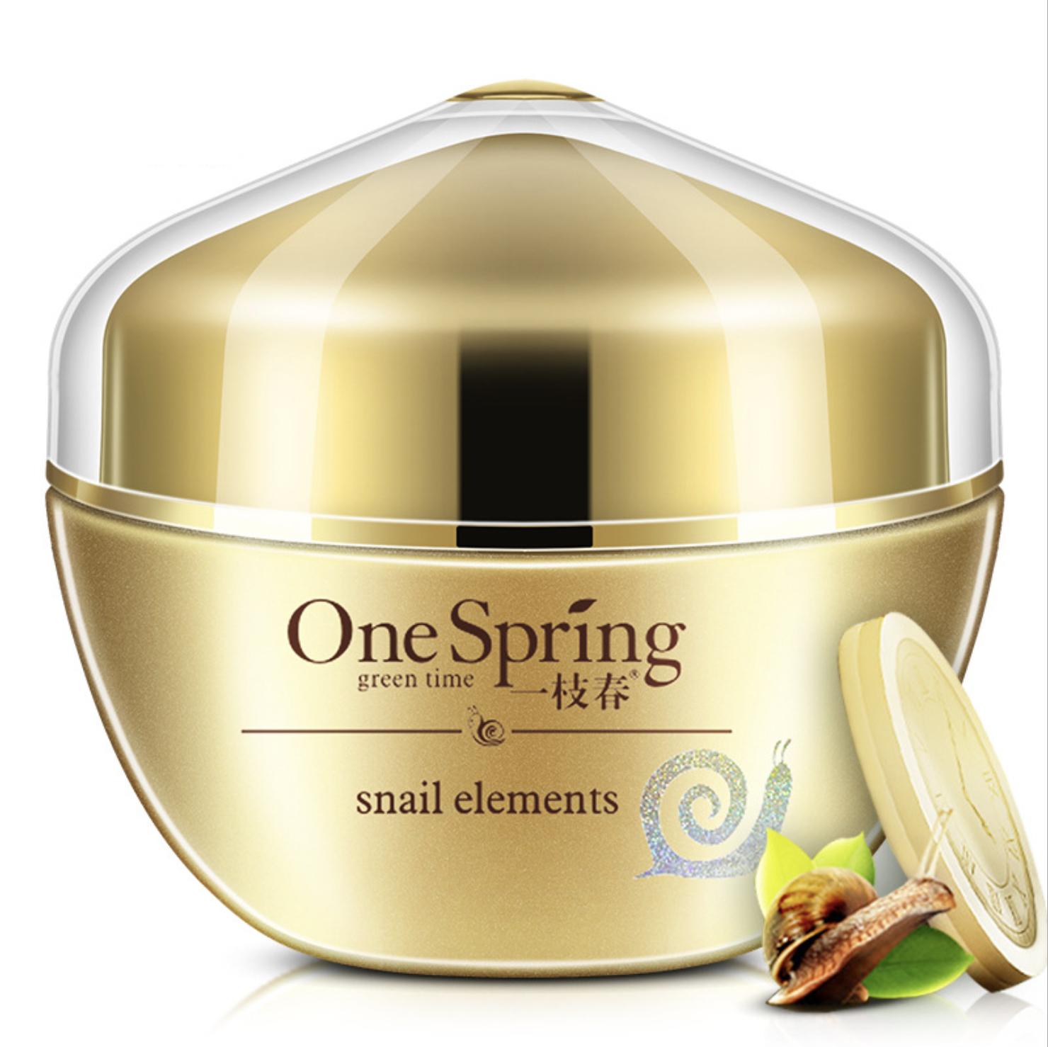 Крем для ухода за кожей One Spring восстанавливающий для ухода за областью вокруг глаз с улиткой, 30 гр.
