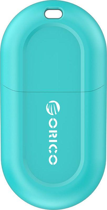 Фото - Bluetooth-адаптер Orico USB BTA-408, синий bluetooth передатчик orico bta 403 bk black