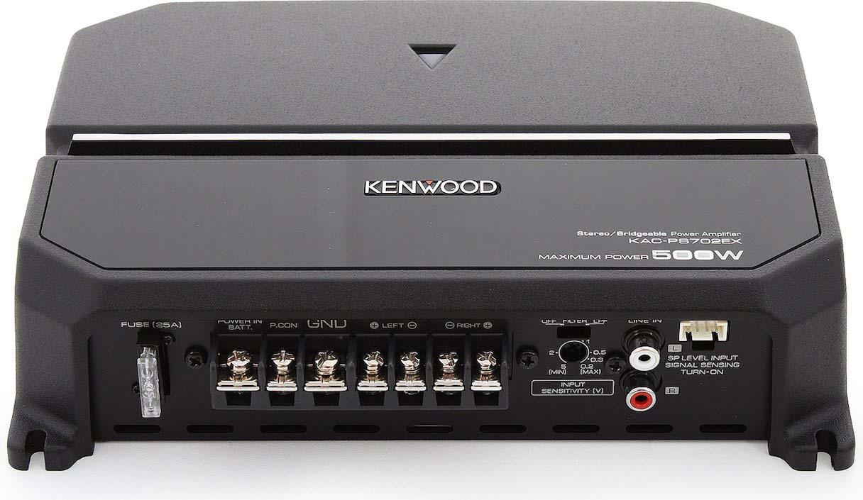 Фото - Усилитель автомобильный Kenwood, KAC-PS702EX, двухканальный усилители слабого сигнала