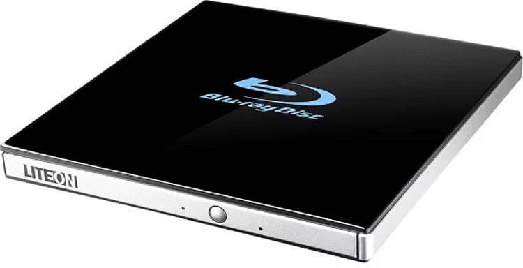 Привод Blu-Ray Lite-On EB-1, черный цена