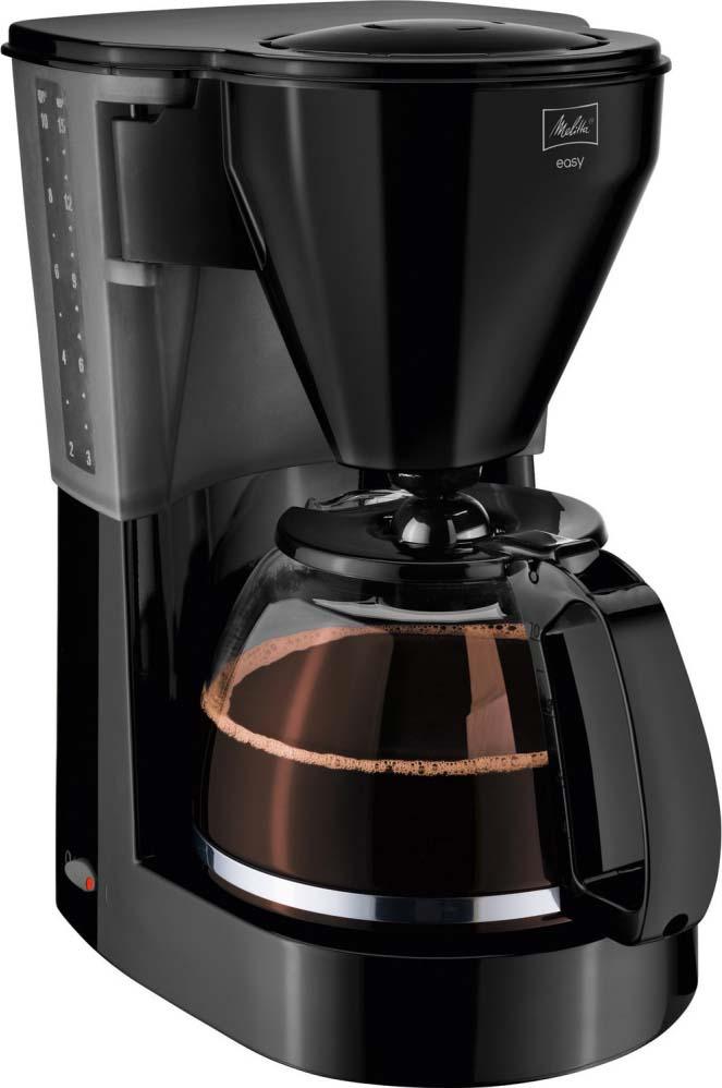Кофеварка капельная Melitta Easy II 1050Вт, черный