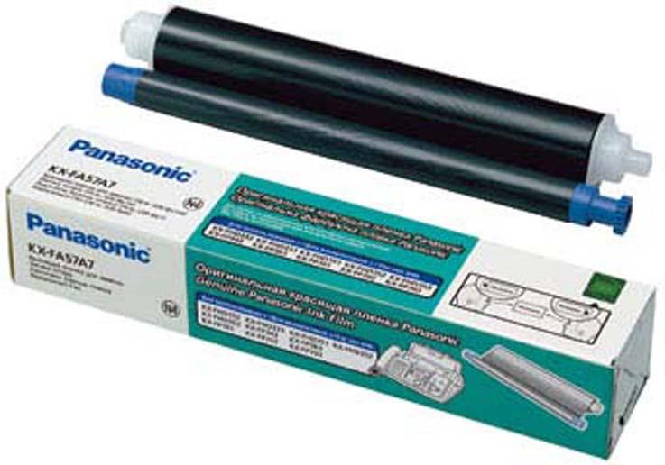 Термопленка Panasonic KX-FA57A для KX-FP343/363, 70 м аксессуар panasonic термопленка для kx fp141 143 145 148 kx fa54a x e 7
