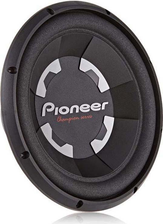 Колонки для авто Pioneer TS-300S4, сабвуфер, пассивный, 400 Вт, 30 см цены