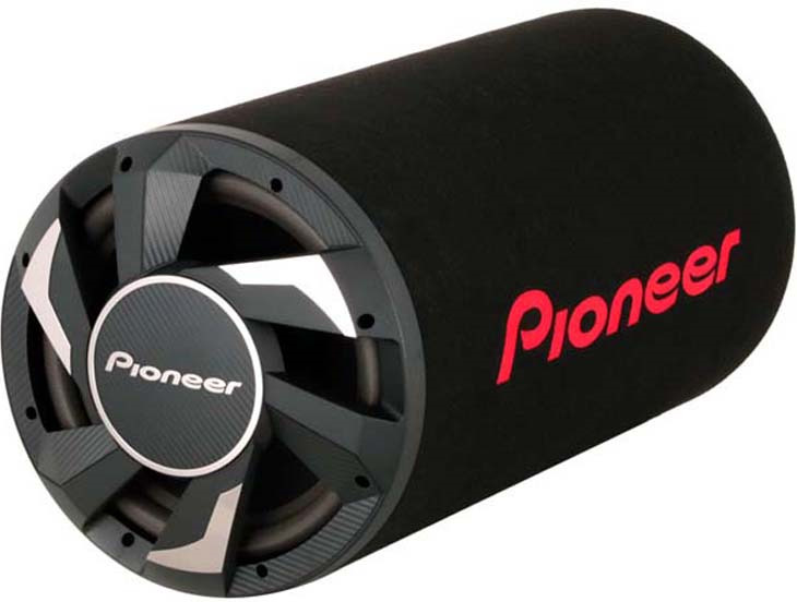 Колонки для авто Pioneer TS-WX300TA, активный, 350 Вт, сабвуфер