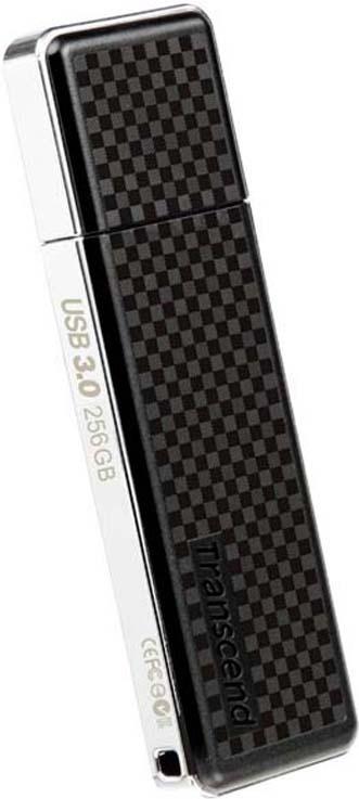 Флеш диск Transcend Jetflash 780 TS256GJF780 USB3.0, 256Gb, черный, серебристый
