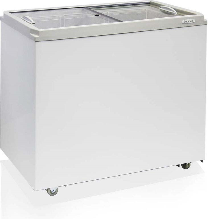 Морозильный ларь Бирюса Б-260VZ, белый бирюса 133 холодильник б 133
