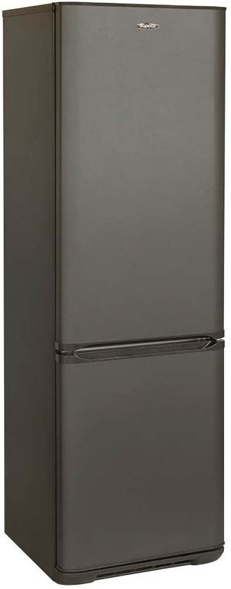 Холодильник Бирюса Б-W127, двухкамерный, графит холодильник бирюса 380nf