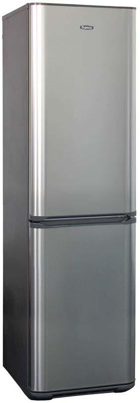 лучшая цена Холодильник Бирюса Б-I127, двухкамерный, нержавеющая сталь