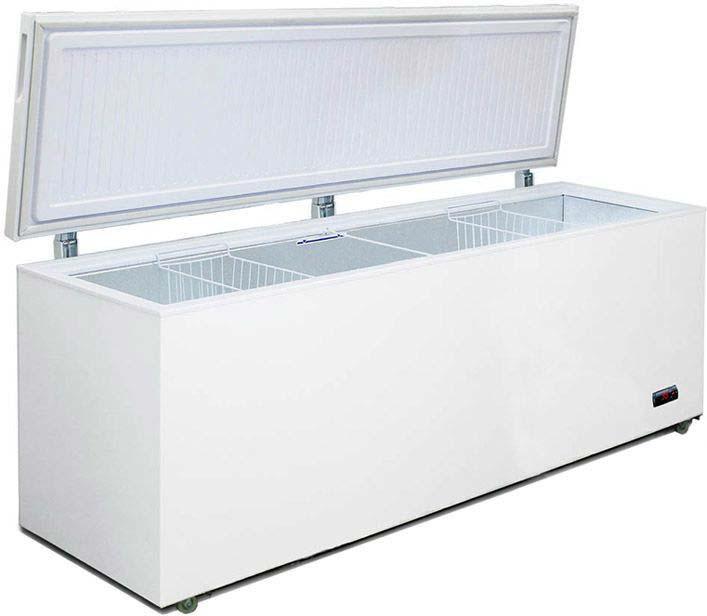 Морозильный ларь Бирюса Б-680VDKQ, белый