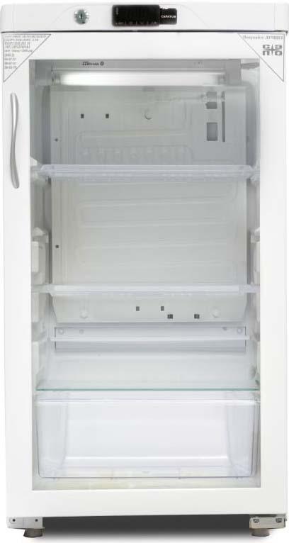 лучшая цена Холодильная витрина Саратов 505-02, однокамерная, белый