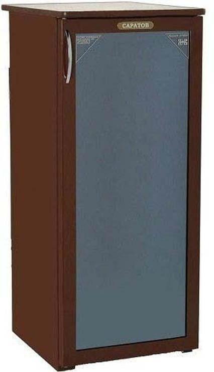все цены на Холодильная витрина Саратов 501-01, однокамерная, коричневый онлайн
